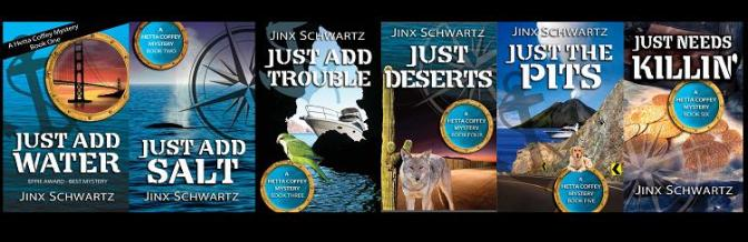 Just Add Water a Hetta Coffey Mystery Q&A @jinxschwartz