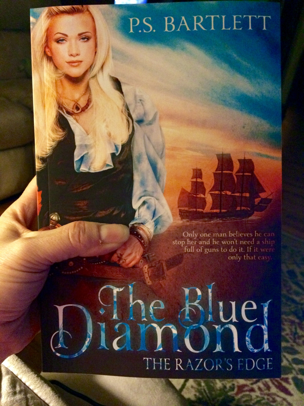 The Blue Diamond – The Razor's Edge Book Trailer – Wait What?