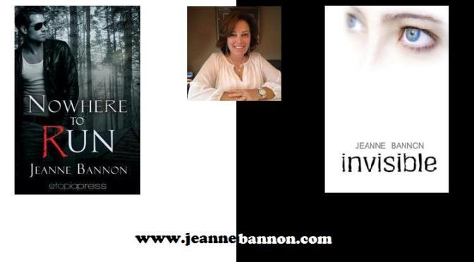 Jeanne Bannon Q&A Nowhere to Run @JeanneBannon
