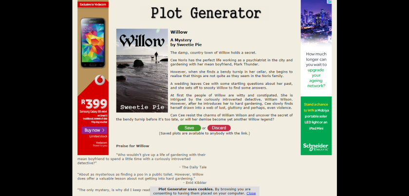 Willow   Plot Generator