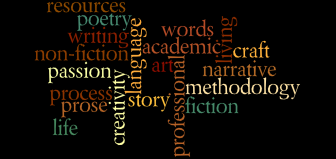 writing word cloud