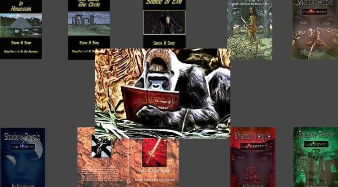 Book Cover Artist Q&A with Chris Graham the @StoryReadingApe