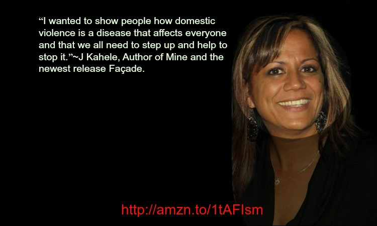 """domestic violence is a disease"" 'Mine'&'Facade' author @JanelleKaheleQ&A"
