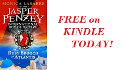 Jasper Penzey International Boy Detective #FREE today #Kindle @MLaSarre #Mystery #Adventure