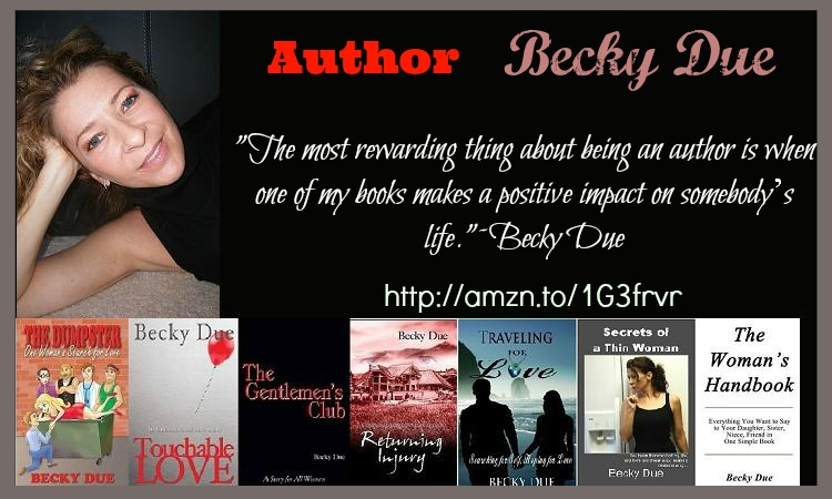 Author Becky Due Banner Image