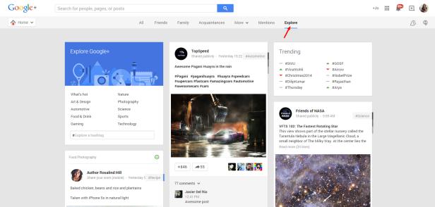 Google Explore