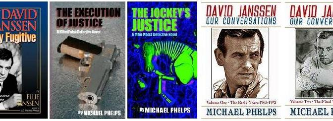 Author @MichaelPhelps3 talks about David Janssen & more with @YouAreTheExpert OnBlogTalkRadio