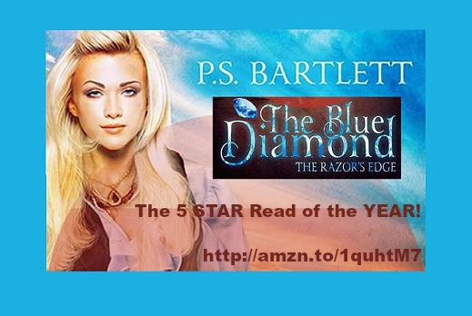 Starting This Sunday…The Blue Diamond – The Razor's Edge by @PSBartlett ON #SALE ONLY $.99!!!