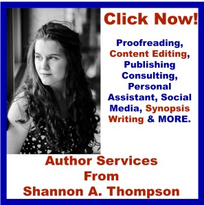 shannon a thompson author services