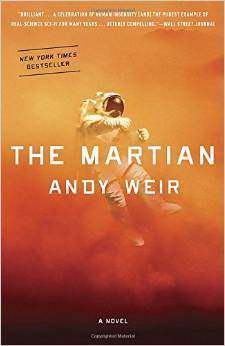 The Martian (Paperback cover)