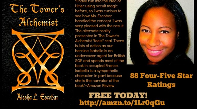 The Tower's Alchemist Q&A Alesha L. Escobar @The_GrayTower