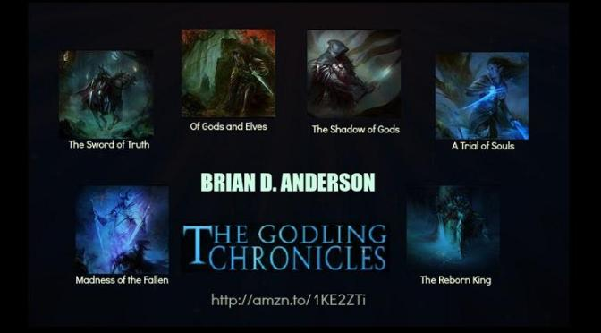 The Godling Chronicles Q&A with Brian D. Anderson.