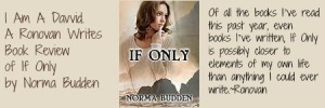 Ronovan Writes Book Review of if Only