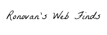 ronovans-web-finds
