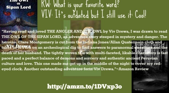 The Owl Interview with the Owl Lady herself @VivDrewa