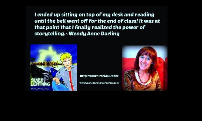 Silver Lightning Q&A with @AuthorWDarling