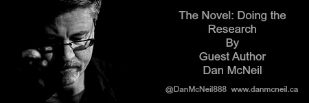 The Novel: Doing the Research by @DanMcNeil888