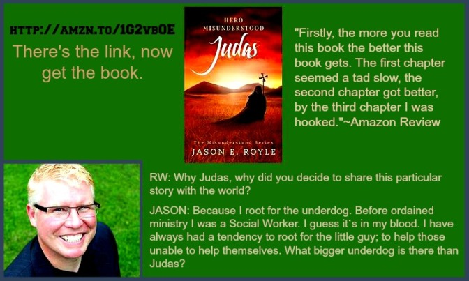 Judas: Hero Misunderstood Q&A @JERoyle