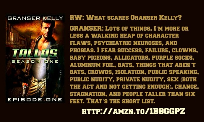 Tallos-Episode One (Season One) Interview with Granser Kelly.