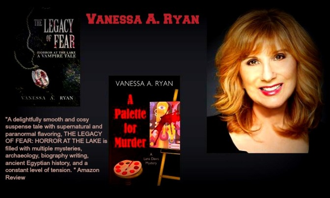 The Legacy of Fear Q&A with Vanessa A. Ryan @vryan333
