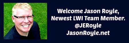 Welcome @JERoyle Newest LWI Team Member.
