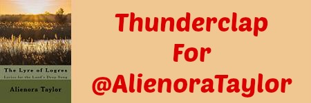 It's Thunderclap Time for Author@AlienoraTaylor