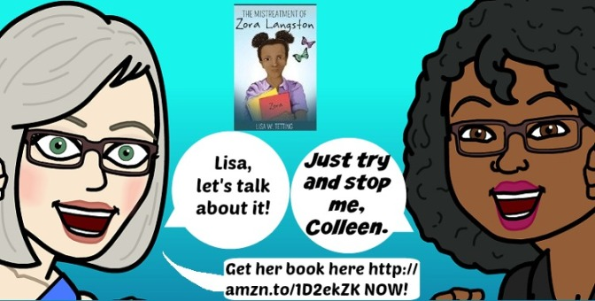A @COLLEENCHESEBRO INTERVIEW of @REBIRTHOFLISA ABOUT THE MISTREATMENT OF ZORA LANGSTON