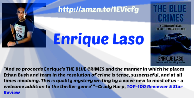 #Interviews-in-translation. Today @EnriqueLaso and 'The Blue Crimes'