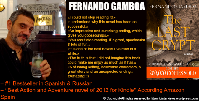 #Interviews-in-Translation Today Fernando Gamboa @Gamboaescritor A real life adventurer and a gripping mystery