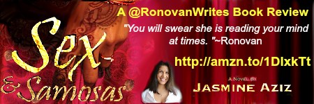 #Book Review by @RonovanWrites of Sex & Samosas by Author @JasmineAziz
