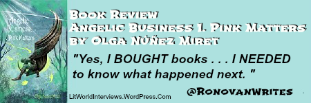 #Book Review of @OlgaNM7 #YA #Novel Angelic Business 1. Pink Matters.