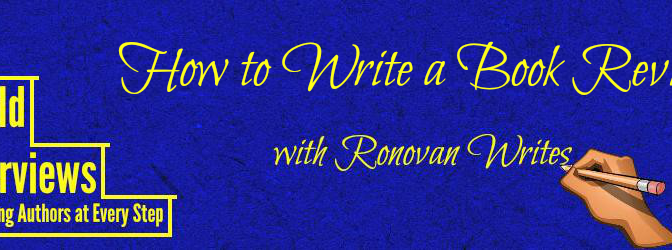 How to Write a Book Review with Ronovan Writes