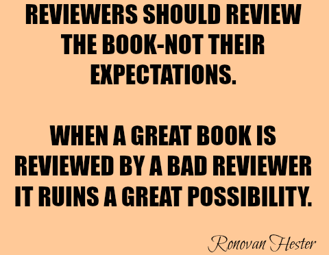Be a Good Reviewer.