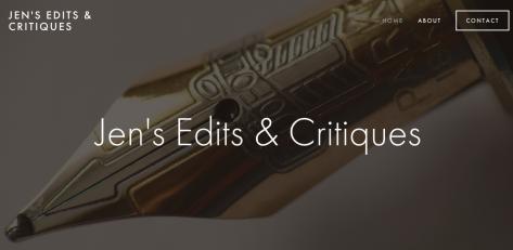 Jen's Edits & Critiques