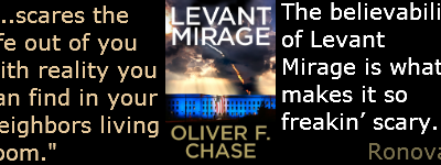 Levant Mirage by Oliver Chase Book Review
