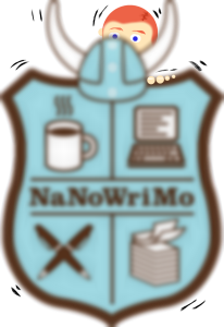 NaNoWriMo Badge Nervous
