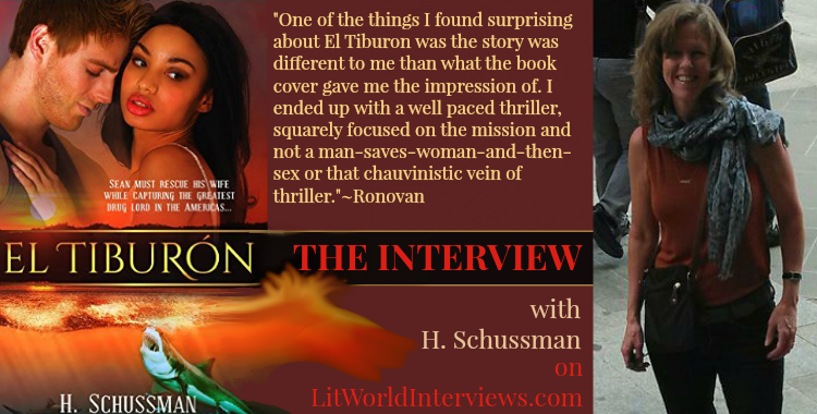 #Interview with H. Schussman of El Tiburon. @RonovanWrites