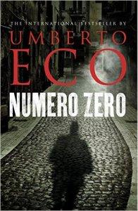 Numero Zero by Umberto Eco. Kindle Cover