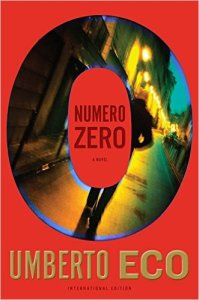 Numero Zero Hardback Cover (I like this one!)