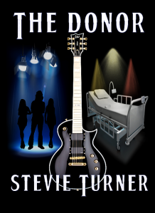 Stevie Turner The Donor book cover.