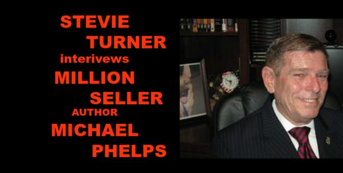 Stevie Turner interviews million-seller author Michael Phelps