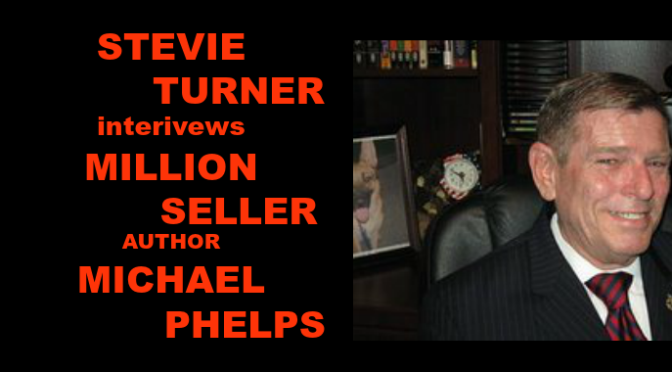 Stevie Turner interviews million-seller author Michael Phelps