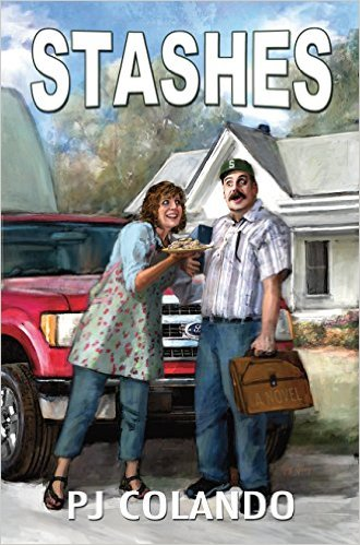 """#BOOK REVIEW BY @COLLEENCHESEBRO OF """"STASHES,"""" BY P J COLANDO"""