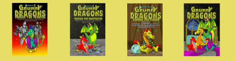 Grumpy Dragon Series by LRW Lee