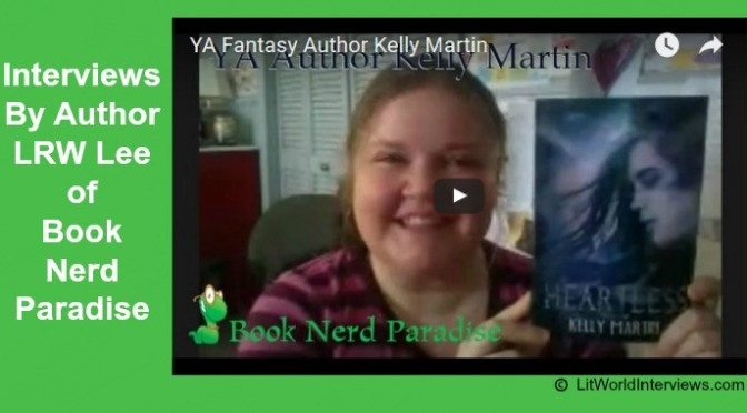 #INTERVIEW BY @LRWLEE OF YA FANTASY AUTHOR KELLY MARTIN