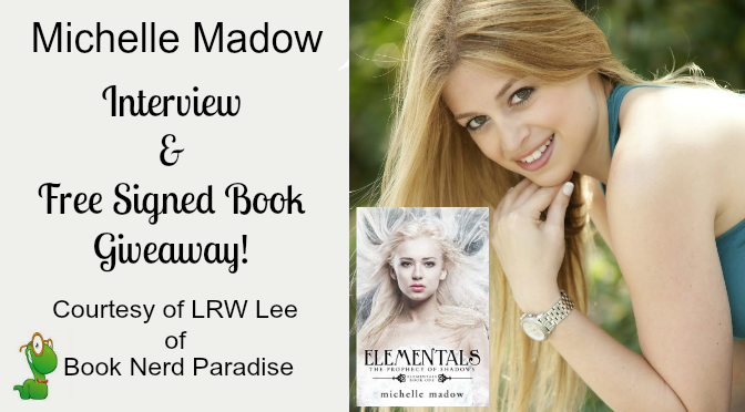 #Interview by @LRWLee of YA Fantasy Author Michelle Madow
