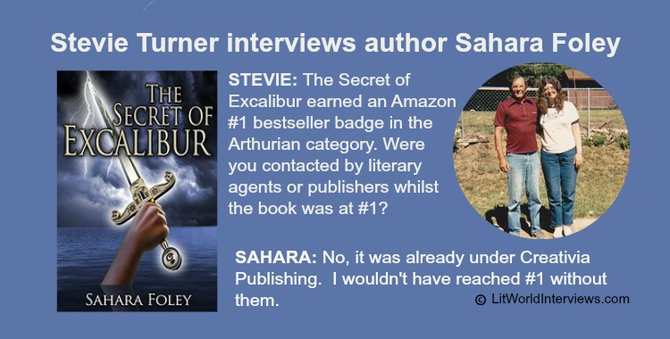 Sahara Foley Interview by Stevie Tuner