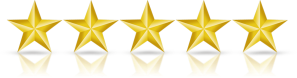 five gold stars image