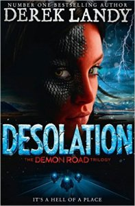 Desolation (The Demon Road Trilogy Book 2) by Derek Landy