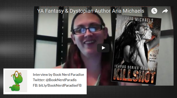 #INTERVIEW BY @LRWLEE OF YA DYSTOPIAN & FANTASY AUTHOR ARIA MICHAELS